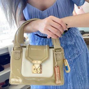 LOUIS VUITTON vintage patent mini bag